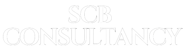 SCB Consultancy Ltd - Landscape logo 600x180 White